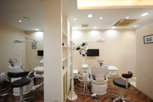 半個室の診療室01